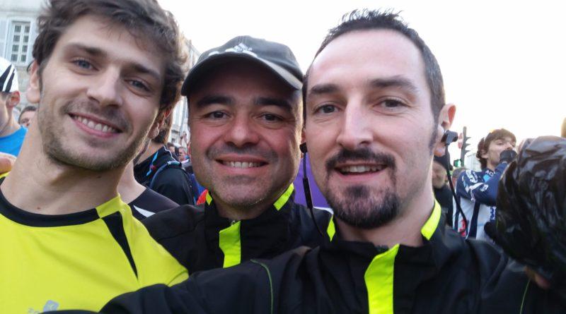 A quelques minutes du départ au marathon de La Rochelle