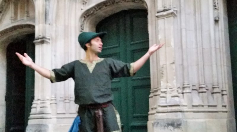 Visite de Bordeaux by night par le guide-troubadour